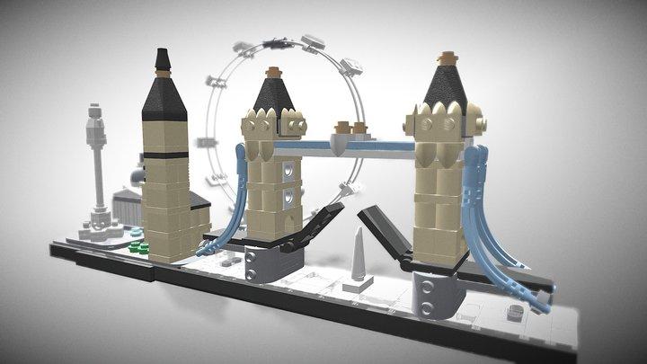 LEGO Architecture 21034 London 3D Model