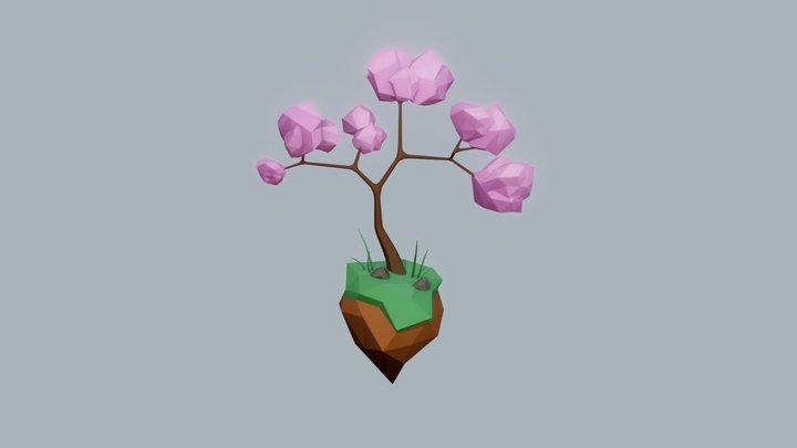 Pink tree 3D Model