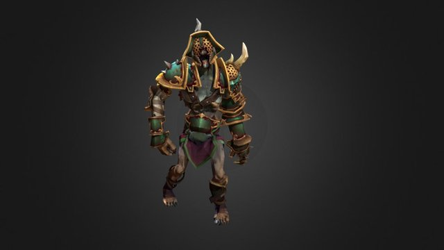 Undying - Corrupted Scourge 3D Model