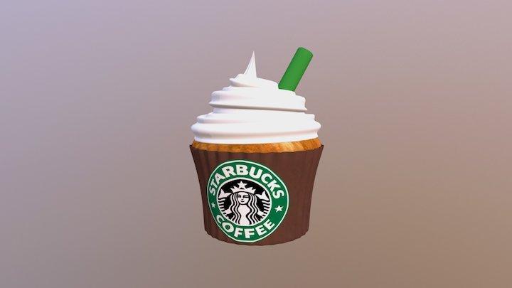Starbucks Frappuccino Cupcake! :) (No Caramel) 3D Model