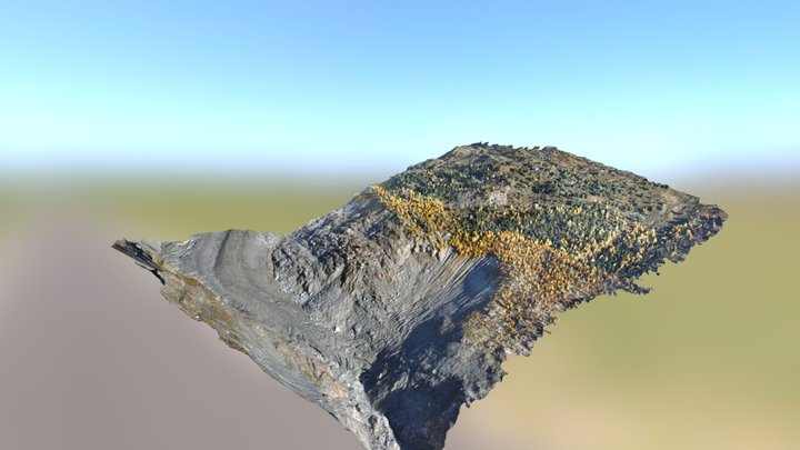 Mapping the Great Aletsch Glacier 3D Model