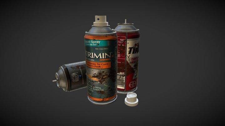 WIP - Props SprayCans 3D Model