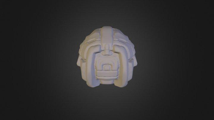 Helmet Shape01 3D Model