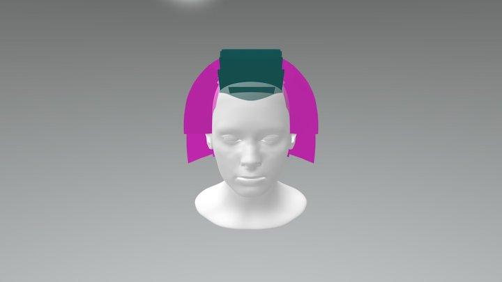 Dégradé progressif à séparations verticales 3D Model