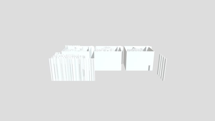 Kuwait Bottom 3D Model