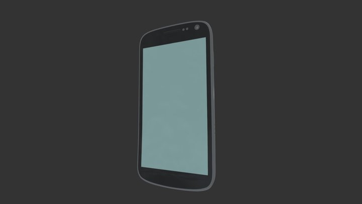 Galaxy Nexus 3D Model