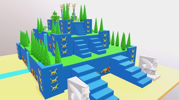Jardines 3D Model