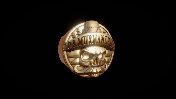 LosMurmanchanos Ring 3D Model
