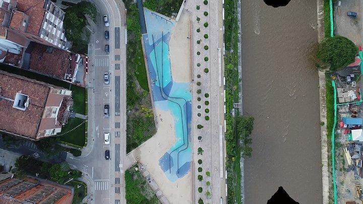 Parques del Río Medellín - 11102017 3D Model