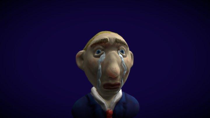 The Sad Man 3D Model