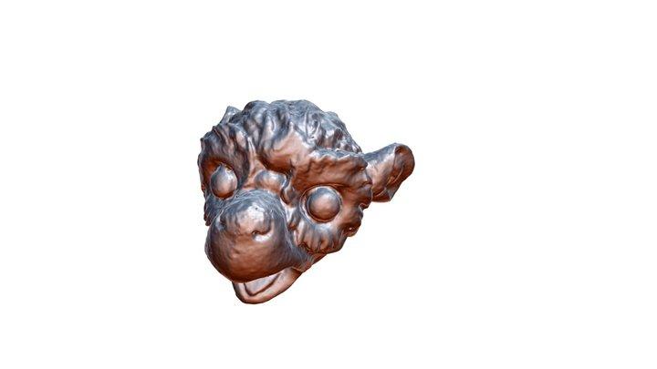 Gargoyle 52 3D Model