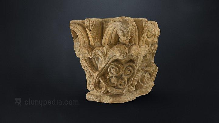 Capitel (ca. 1100) Monasterio de San Zoilo 3D Model
