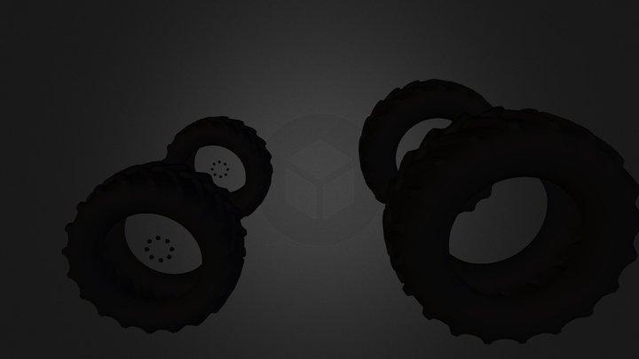 tires4 3D Model