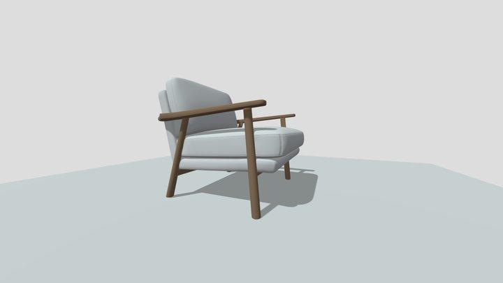Lars Accent Chair 3D Model