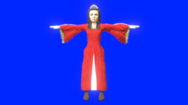 Dame_Flemmarde 3D Model