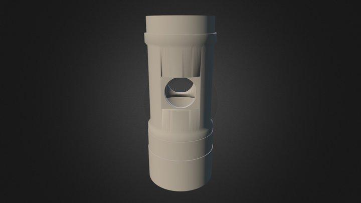 Idler Roll Sleeve 3D Model