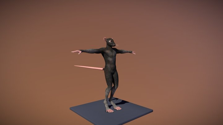 Character - Flynt 3D Model