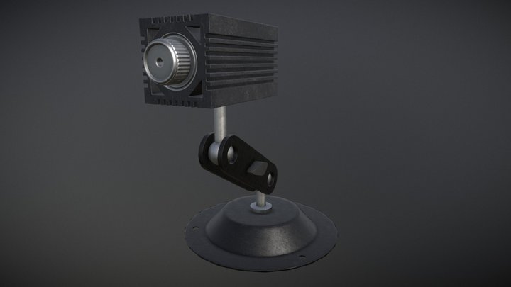 Laser 3D Model