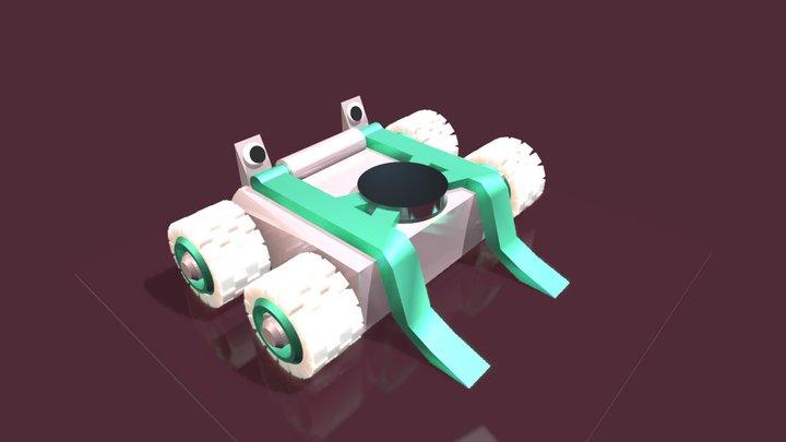 Lil' Yeetums 3D Model