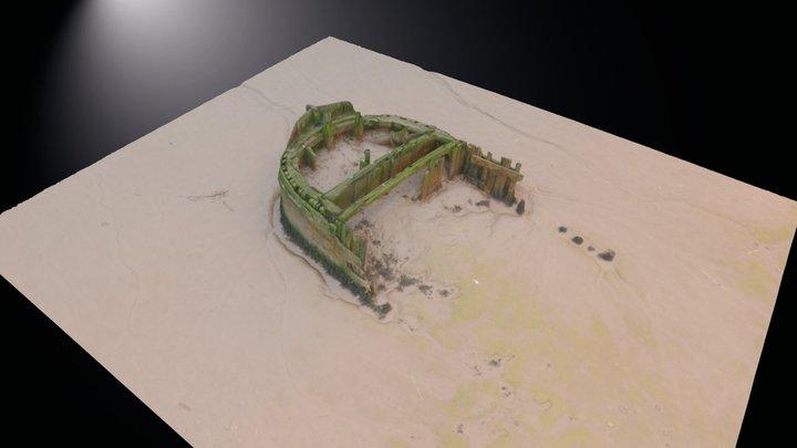 Humber Drone Survey - Boat 2 3D Model