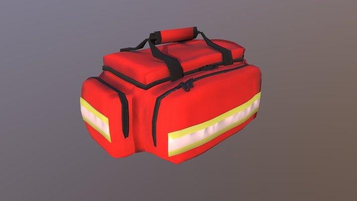 Paramedic Bag 3D Model