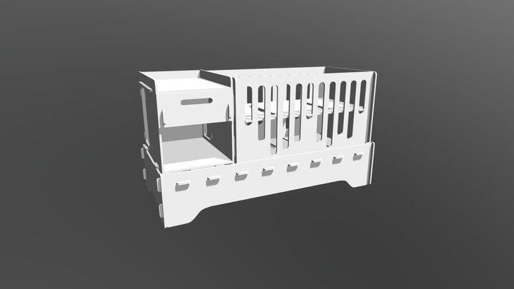 Combo 3 em 1 Jasmin 3D Model