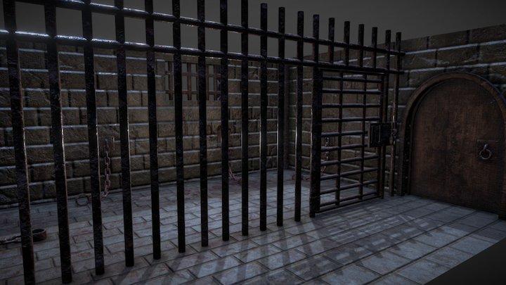 Castle Dungeon 3D Model
