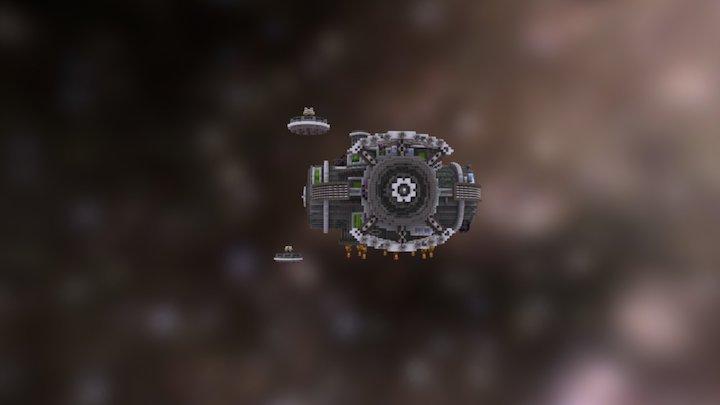 Spacestation 3D Model