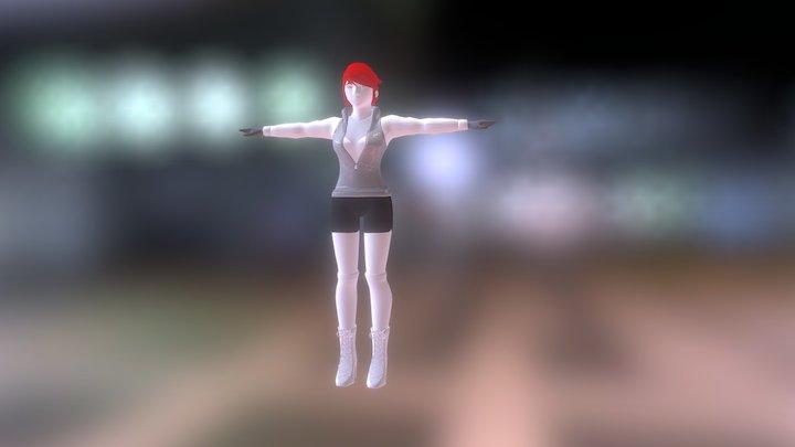Super Smash Bros. for Wii U: Rinoa 3D Model