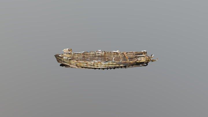 Interior of Daring Shipwreck-New Zealand 3D Model