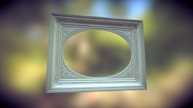 Oval Frame READY Combined 3D Model