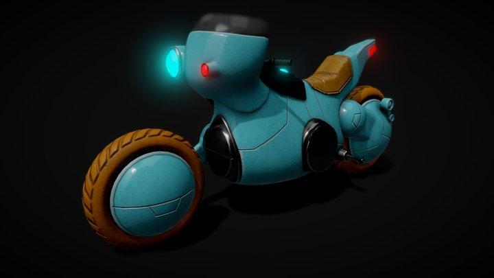 Tetsuo's Bike 3D Model