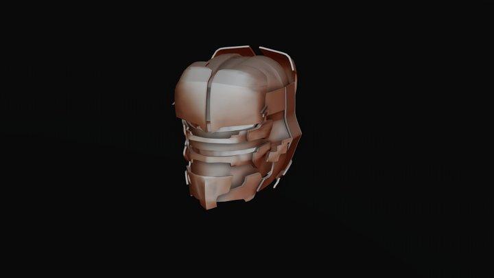 Riot Helmet [Dead Space series] 3D Model