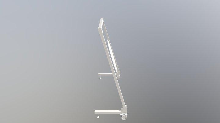 Portique_2018_2019 3D Model