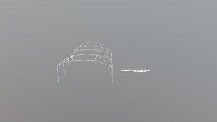 PATIO DE SECUNDARIA 3D Model