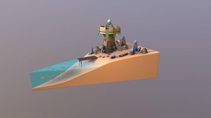 PieLand 3D Model