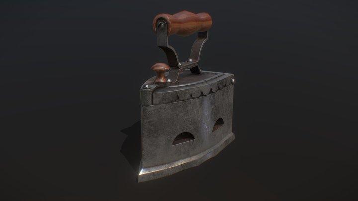 homework 2.1 cast iron 3D Model
