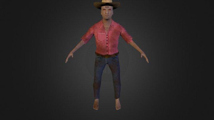 OldMen 3D Model