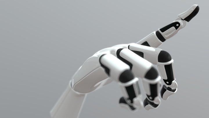 Randox RX Series Robot Hand 3D Model