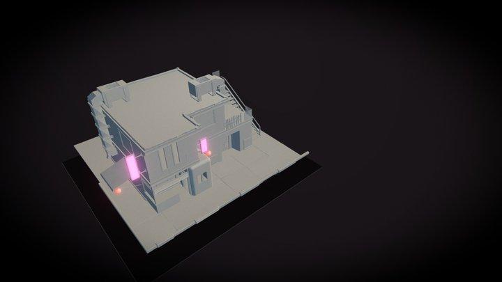 house_hipoly 3D Model