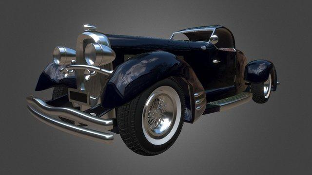 Duesenberg Car 3D Model