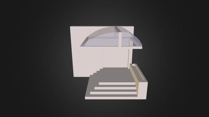 Acoperis Colegiu 2 3D Model