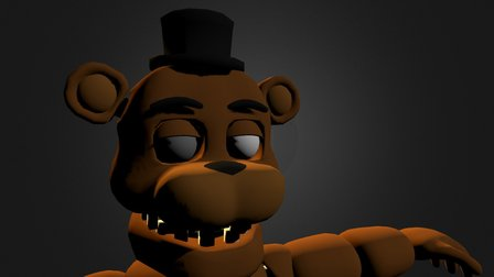 Unwithered Freddy by rafa (old) 3D Model