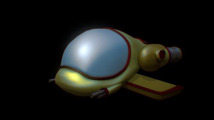 Spacecraft 3D Model