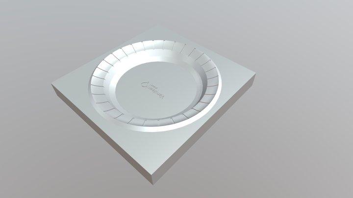 Molde Plato Vandeer plast 3D Model