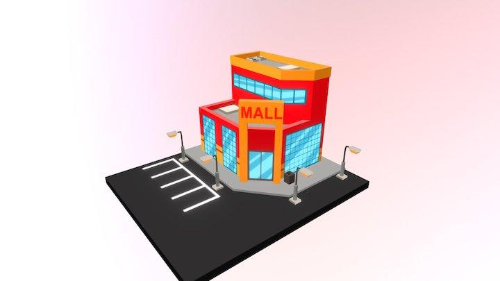 Isometric: Mall 3D Model