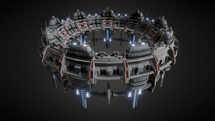 Star Gate Portal 02 3D Model