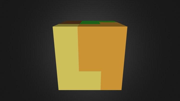 Assembled Cube 3D Model