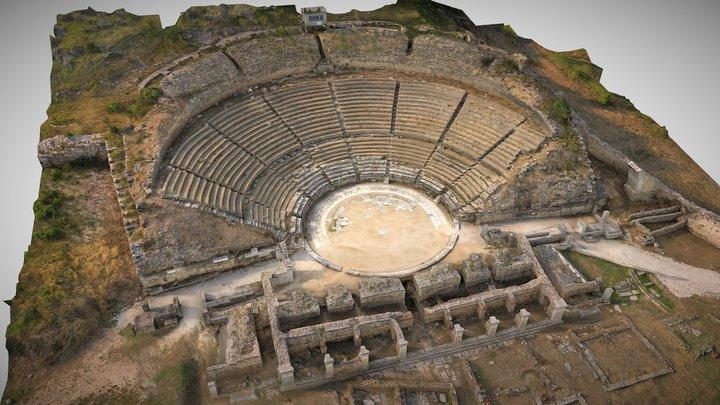 Philippi Ancient Greek Theater 3D Model