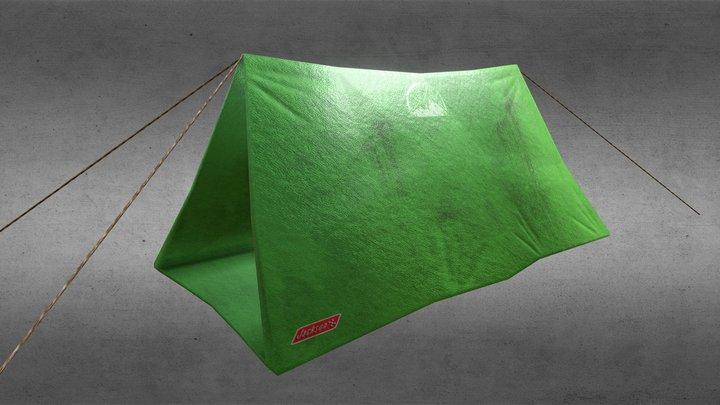 Triangle Tent 3D Model